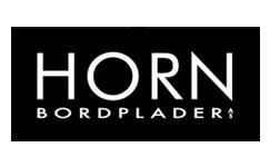 Horn bordplader job